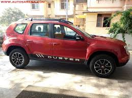 renault duster 2017 colors 2017 renault duster xtronic cvt petrol rxs fiery red paint shade