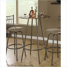 30 round bar table monarch specialties 30 round cappuccino marble bar table i2310