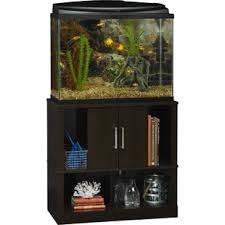 r j enterprises fusion 50 gallon aquarium tank and cabinet aquarium stan wayfair