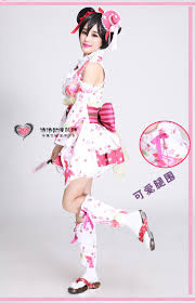 high quality kimono dress love live costume yazawa