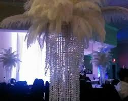 Feather Vase Centerpieces by Ostrich Feather Centerpiece Kits With 24 Eiffel Tower