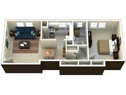 One Bedroom Apartment Plans And Designs 1 Bedroom Apartment Floor Plan For Rent At Willow Pond One