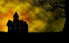 anime halloween night background spooky halloween backgrounds group 50