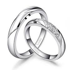 wedding rings white gold wedding rings for women white gold 18k best of ring cord picture
