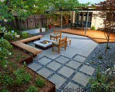 Contemporary Backyard Ideas Concrete Driveway With Modern Twist Due To Unique Saw Cut And