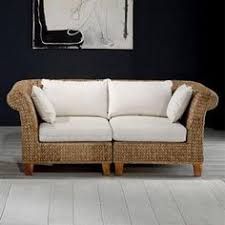 Seagrass Sectional Sofa Found It At Wayfair Cotton Settee Loveseat Doing It In