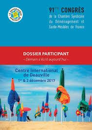 chambre syndicale demenagement 91ème congrès national rdv à deauville en 2017