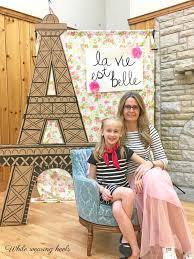 Large Eiffel Tower Statue While Wearing Heels Diy Eiffel Tower
