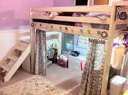 Make Bunk Bed Desk by Best 25 Loft Bed Curtains Ideas On Pinterest Loft Bed