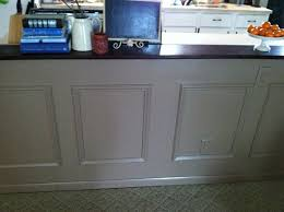wainscoting kitchen island picture frame wainscoting my repurposed