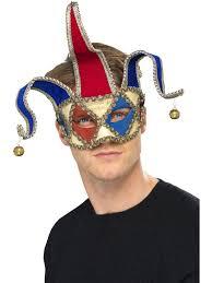 masquerade mask men venetian jester
