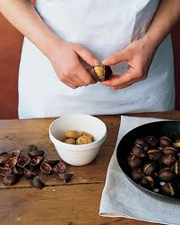 Roasting Chestnuts In Toaster Oven How To Roast And Peel Chestnuts Martha Stewart