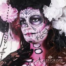 day of the dead zombie halloween mask get spooky this halloween with make up for ever u0027s 10 haunting