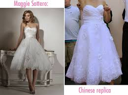 cheap maggie sottero wedding dresses why you shouldn t order your wedding dress from china the pink