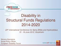 erdf si e social disability in structural funds regulations 2014 2020