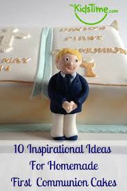 inspirational ideas for homemade first communion cakes