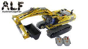 lego technic lego technic 8043 motorized excavator lego speed build review