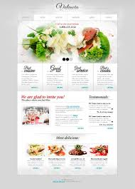 free website template with jquery slider for restaurant business