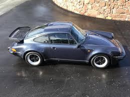 porsche 930 turbo blue used 1987 porsche 911 pre 89 turbo cp for sale in shropshire