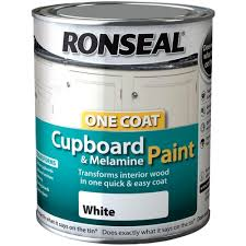 Painting Mdf Cabinet Doors by Ronseal Occmpw750 One Coat Cupboard Melamine And Mdf 750 Ml