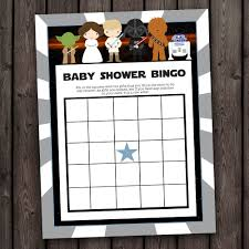 wars baby shower ideas wars baby shower bingo wars bingo shower