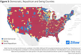 2004 Presidential Election Map by Swings And Misses Home Values In Presidential Swing Counties Fell