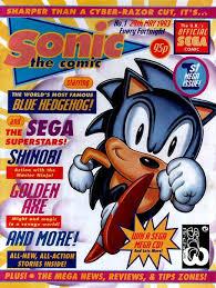 sonic comic comic book tv tropes