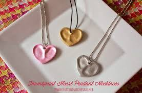 day necklaces diy heart shaped necklaces for your
