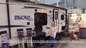 forest river flagstaff micro lite 23fb youtube
