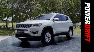 jeep india first look of the jeep compass in india powerdrift youtube