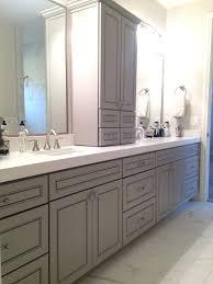 Bathroom Vanity With Linen Tower 48 Inch Bathroom Vanity With Matching Linen Tower U2013 Chuckscorner