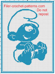 baby blanket baby smurf filet crochet pattern filet baby