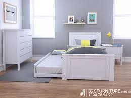 Single Bed Frame With Trundle Fantastic Single Trundle Beds Sale B2c Furniture