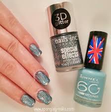 spangley nails uk nail art blog glitter striping tape manicure