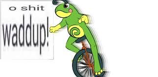 Unicycle Meme - courtesy of vp dat boi know your meme