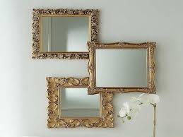 Mirrors In Living Room Living Room Large Glass Mirror Frame Cream Wall Laminate Wooden
