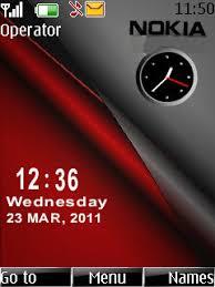 themes nokia asha 202 mobile9 download red nokia dual clock s40 theme free nokia themes mobile fun