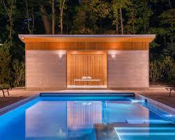 Backyard Pool House by Pool House Ideas U0026 Design Photos Houzz
