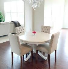 White Washed Kitchen Table by Dining Table White Gloss Dining Table And Grey Chairs White