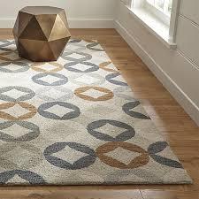 wool rug destry geometric diamond rug crate and barrel