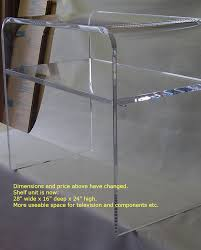 clear console table enamour clear acrylic ideas featuring