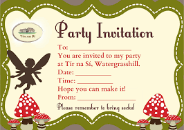 how to write an invitation for a party passingdemanded cf