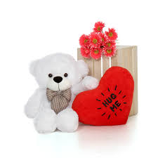 big valentines day teddy bears 30in big s day teddy with beautiful hug me
