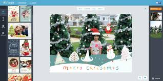 create free personalized christmas cards and more online with fotojet