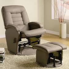 Black Rocking Recliner Black Color Swivel Rocker Recliner Chair How To Swivel Rocker