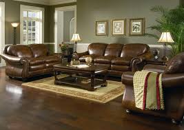 Living Room Decor With Brown Leather Sofa What Goes With Brown Leather Sofa Wall Color Paint Living Room