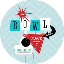 bowling party invitation template free download clip art free