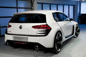 volkswagen design vision gti visits 2013 la auto show automobile