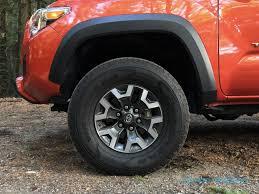 toyota tacoma road wheels 2016 toyota tacoma trd road review slashgear