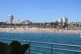 Comfort Inn Near Santa Monica Pier Views Of Santa Monica About 2 Miles From Hotel Picture Of